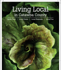 Cover photo for 2019 Catawba County Local Food Guide